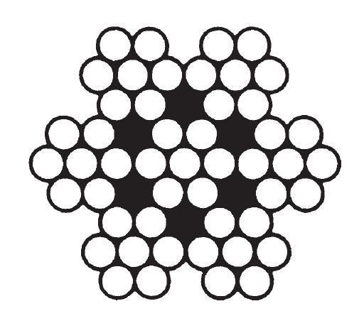 6x7 + IWRC سیم بکسل